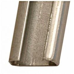 Стоманена С шина неразпробита 2000х20х10mm