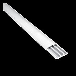 Подов пластмасов кабелен канал 60x15 СТ2 бял