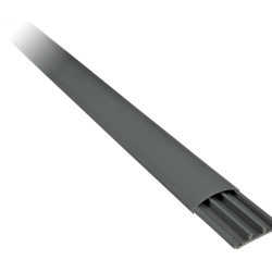 Подов пластмасов кабелен канал 75x20 СТ2 сив
