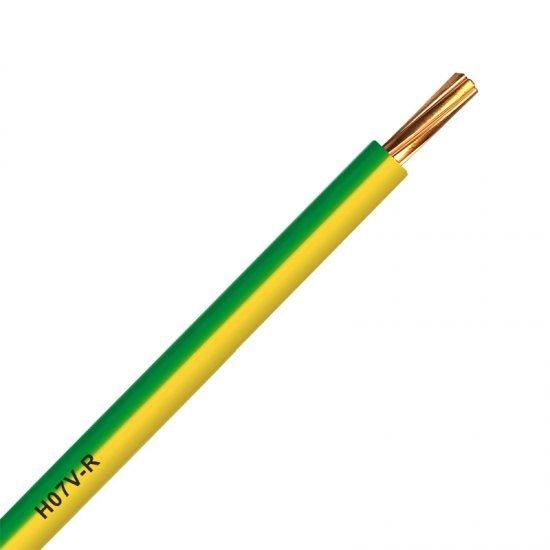 Инсталационен проводник H07V-R 1x16 mm² жълто - зелен