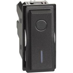 Ключ за бойлер 2P 16A черен