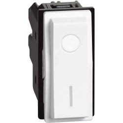 Ключ за бойлер 2P 16A бял
