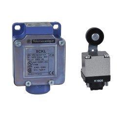Изключвател краен XCKL - термопластично бутало с ролка - 1NC+1NO - snap действие