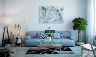 Вашият дом – отражението на вашия характер в цветове, произведения на изкуството и осветление
