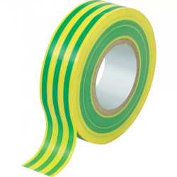 Изолирбанд PVC 20×19 жълто-зелен