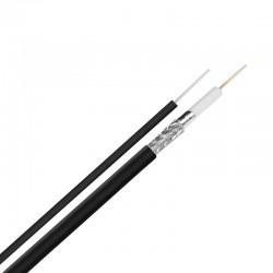 Коаксиален кабел RG6/96 CCS с носач