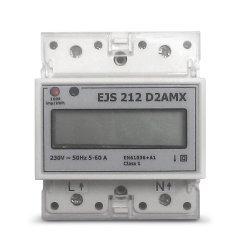 Електромер еднофазен EJS 212 D2AMX за монтаж на DIN-шина, многотарифен, RS-485