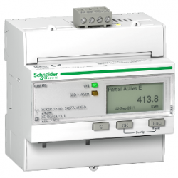 Електромер трифазен kWh 63A MODBUS