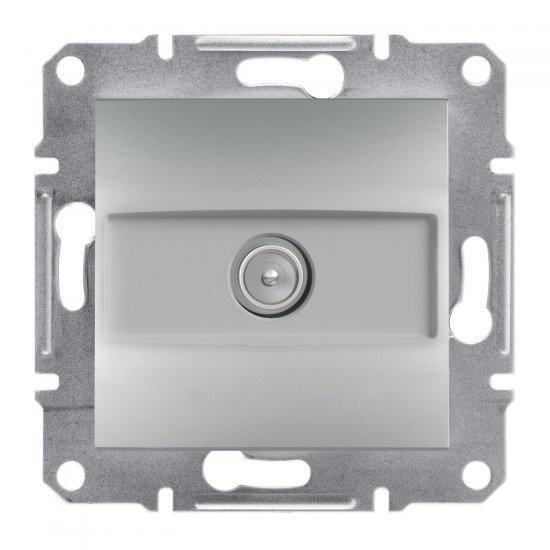 Розетка TV 4dB мъжки междинна алуминий