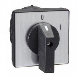 Превключвател пакетен, 2P 45° 12A, винтов монтаж