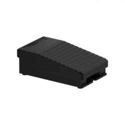 Превключвател крачен IP43 черен 1NC+1NO 1O+F без капак