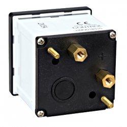 Амперметър 48x48mm, 5A за токов трансформатор, без скала