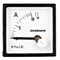 Амперметър 48x48mm, 10A, AC, директен