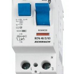 Дефектнотокова защита 2P 25A 100mA 10kA тип АС