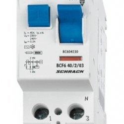 Дефектнотокова защита 2P 25A 300mA 10kA тип АС