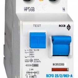 Дефектнотокова защита 2P 25A 30mA 10kA тип A