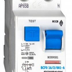 Дефектнотокова защита 2P 16A 10mA 10kA тип A