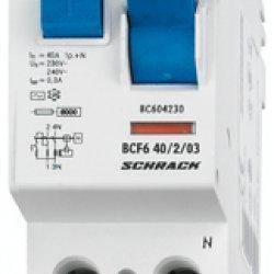 Дефектнотокова защита 2P 25A 300mA 6kA тип AС
