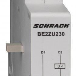 Изключвател минимално напрежение, BE2, 230V AC, 50Hz