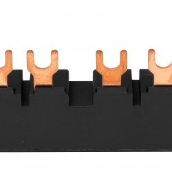 Гребен за 4 моторни защити BE5, 3 фази, 45mm, виличен, с UL сертификат