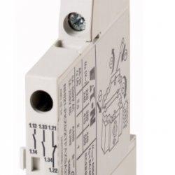 Контакт допълнителен, страничен монтаж, за моторни защити BE5 и BE6, 2НО+1НЗ