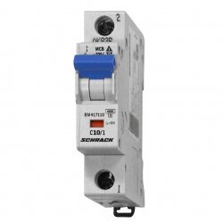 Прекъсвач автоматичен 1P 10A C 4,5kA