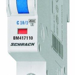 Прекъсвач автоматичен 1P 10A B 4,5kA