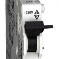 Контакт допълнителен, защракващ 1НО+1НЗ, 250V/4A, за BM/BC прекъсвач