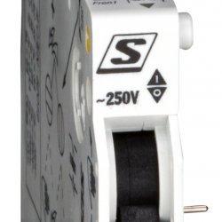 Контакт сигнален, защракващ 2CO, 250V/4A, за BM прекъсвач
