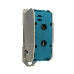 Клема редова 185mm², 1Р, синя, Al/Cu