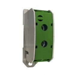 Клема редова 185mm², 1Р, жълто-зелена, Al/Cu