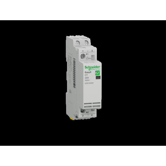 Контактор Easy9 CT 2P 20A 2NO 230 V 50 Hz