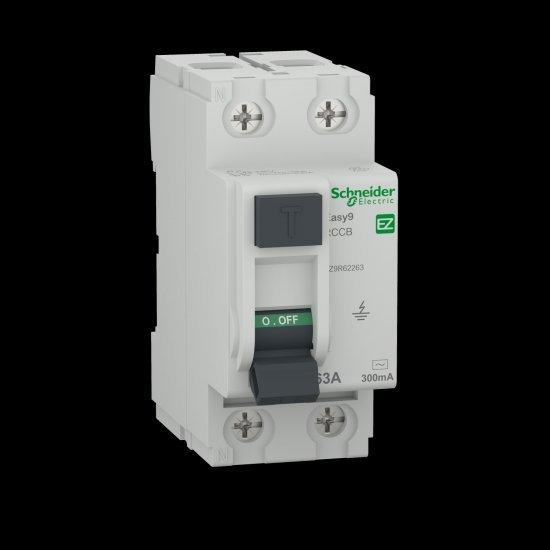 Дефектнотокова защита Easy 9 2P 40A  300 mA тип АС
