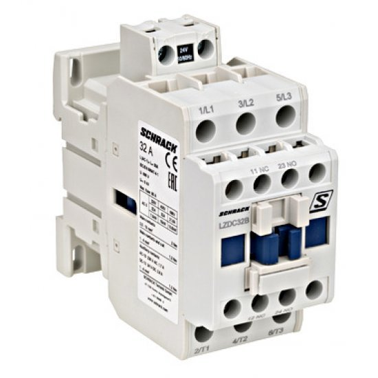 Контактор 15kW 32A 3P 1НО+1НЗ 230VAC