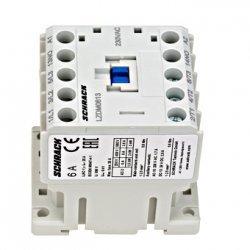Контактор 2,2kW 6А 3НО + 1Н3 230V AC