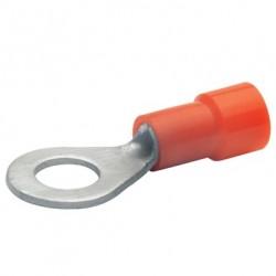 Кабелна обувка изол. 0,5 - 1.0 mm²/М10 червена