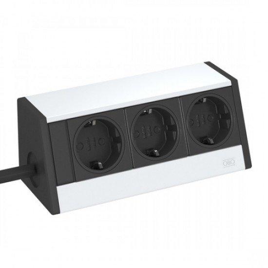 Кутия за бюро с 3 шуко контакта - Deskbox