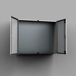 Табло метално 1000х1000х300 с монт. плоча