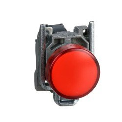 Бутон 1НЗ червен