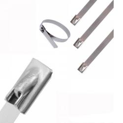 Кабелна превръзка 127х4,6 метални/100бр.