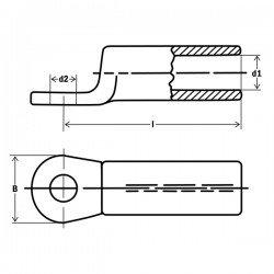 Обувка AL 120 mm²/М12