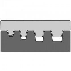 Вложка за изол. и неизол. кабелни гилзи от 0,5 mm² - 4 mm²