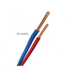 Инсталационен проводник H05V-U 1x0,5 mm² син