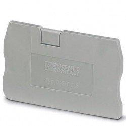 Капак краен за 1,5 mm² и за 2,5 mm² клеми с 2 връзки