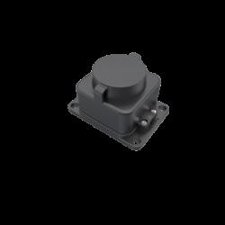 Контакт неподвижен гумиран 2P+E 16A 220V IP44