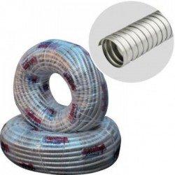 Гъвкава метална тръба Ф11 вътр.без тел и изолация