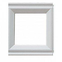 Рамка декоративна съединителна бял