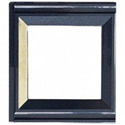 Рамка декоративна съединителна черен