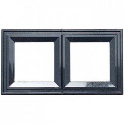Рамка декоративна двойна черен