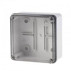 Разклонителна кутия 100x100x50mm IP56 с прозр.капак